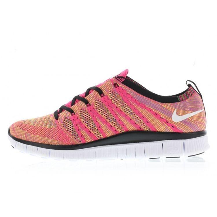 magasin en ligne c5ee8 c0414 Manchester Liquidation Nike Free Flyknit 5.0 Nsw Femme Rose ...