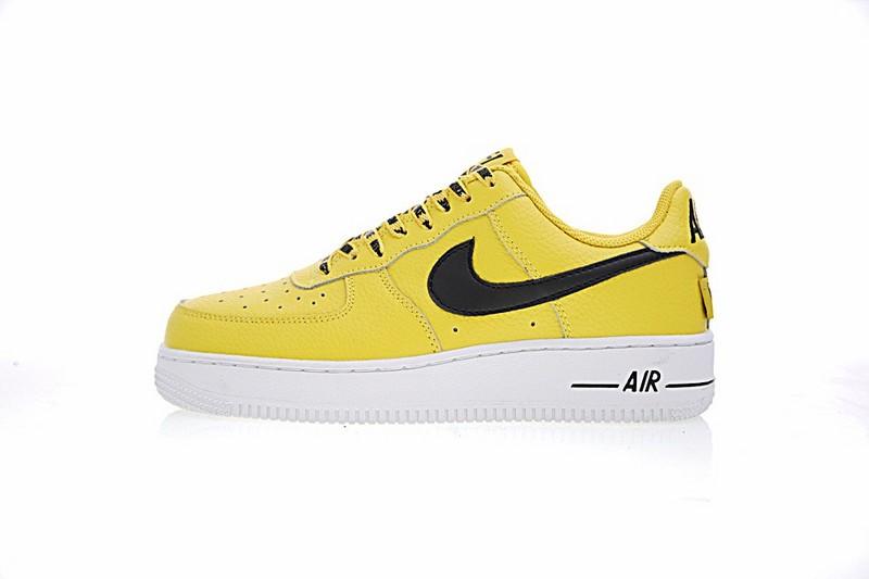 chaussure nike air force 1 femme jaune
