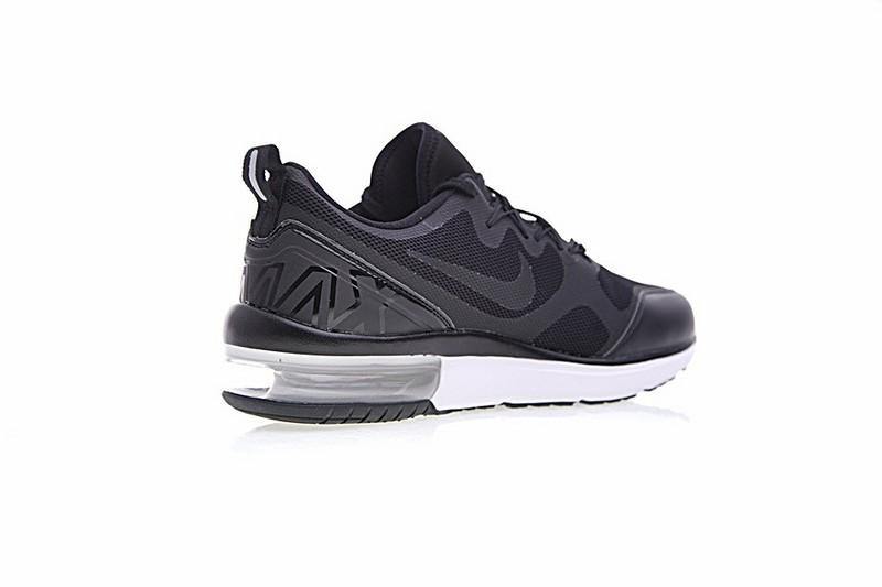 Unisexe Nike Air Max Fury Chaussures de course Noir blanc AA5739 001
