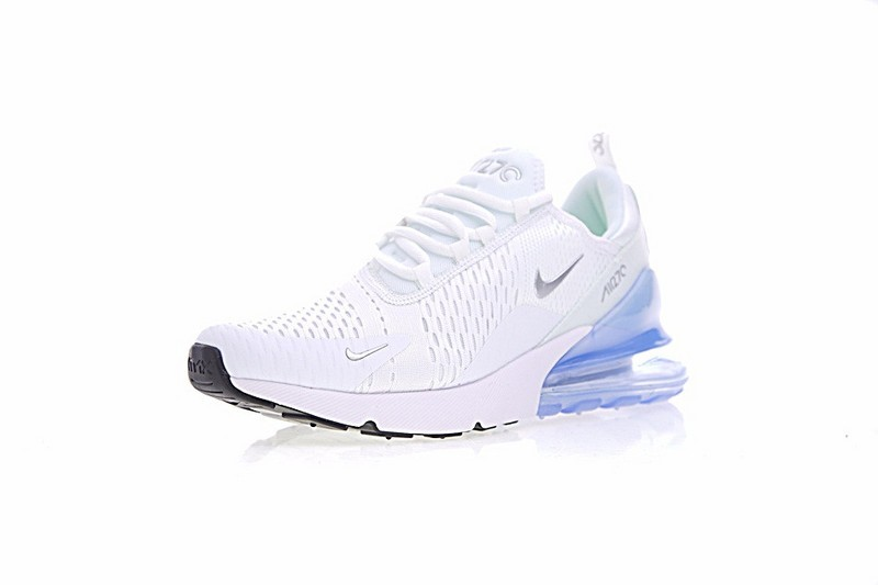 Liquidation Et Remise Chaussures Blanche Ice Bleu Nike Air