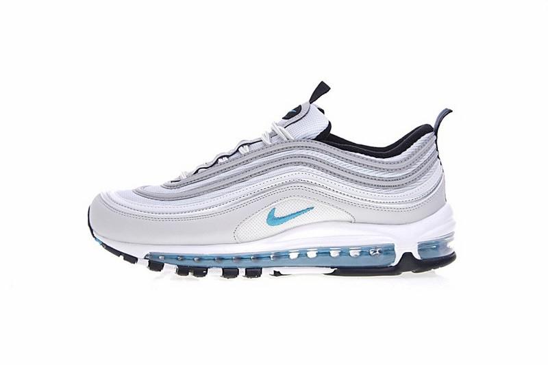 Prix Le Plus Bas Possible SliverBleu Chaussures Nike Air