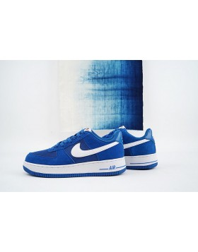 buy online 3f547 c22a7 ... Star Bleu Blanche Homme Chaussures 2016 Nike Air Force 1 Low 820266-402