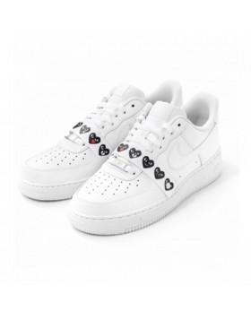 Nike Air Force 1 Low Black Toe (Mini Swoosh) 823511 603