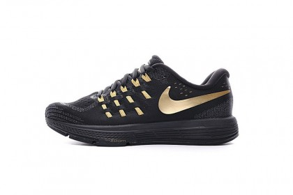 new list get new good texture Promotions Nike Air Zoom Vomero 11 Homme Noir/Or Chaussures 818099 ...