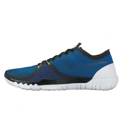 Peu Coûteux Nike Free Trainer 3.0 V4 SoarProfond Royal Bleu